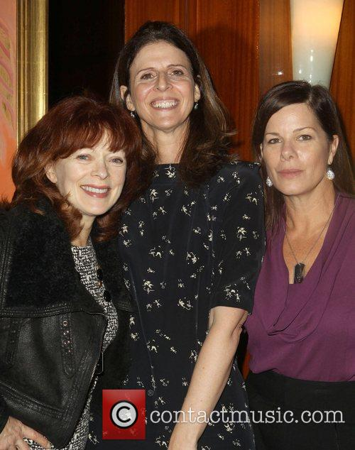 Frances Fisher, Amy Ziering and Marcia Gay Harden 4