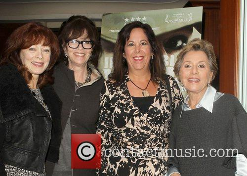 Frances Fisher, Hillary Bibicoff, U and S. Senator Barbara Boxer 6