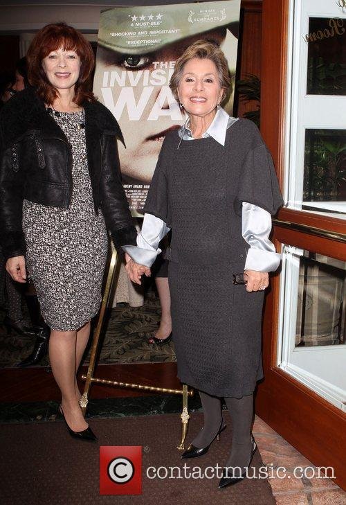 Frances Fisher, U and S. Senator Barbara Boxer 7