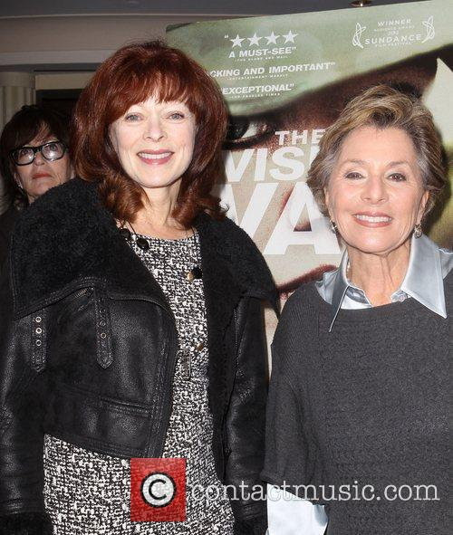 Frances Fisher, U, S. Senator Barbara Boxer