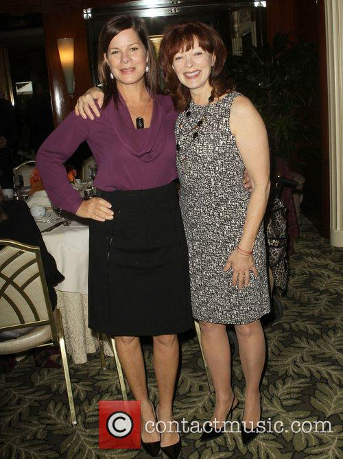 Marcia Gay Harden and Frances Fisher 9