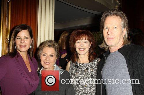 Marcia Gay Harden, U, S. Senator Barbara Boxer, Frances Fisher and Stephen Nemeth 1