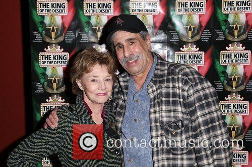 Actress Peggy McCay and director Sal Romeo Opening...