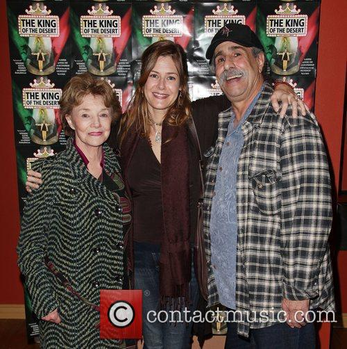 Actress Peggy McCay, writer Stacey Martino, and director...
