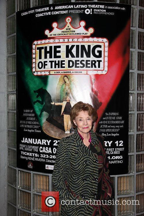 Opening night of 'The King of the Desert'...