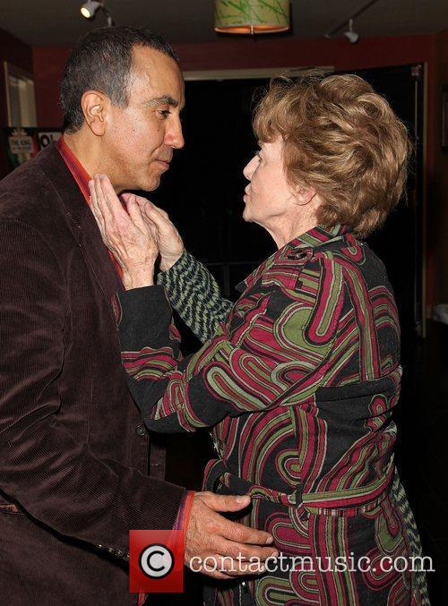 Rene Rivera and Peggy McCay Opening night of...