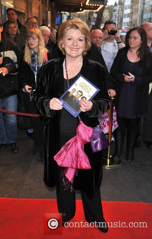 Brenda Blethyn and guest 'The King's Speech' press...