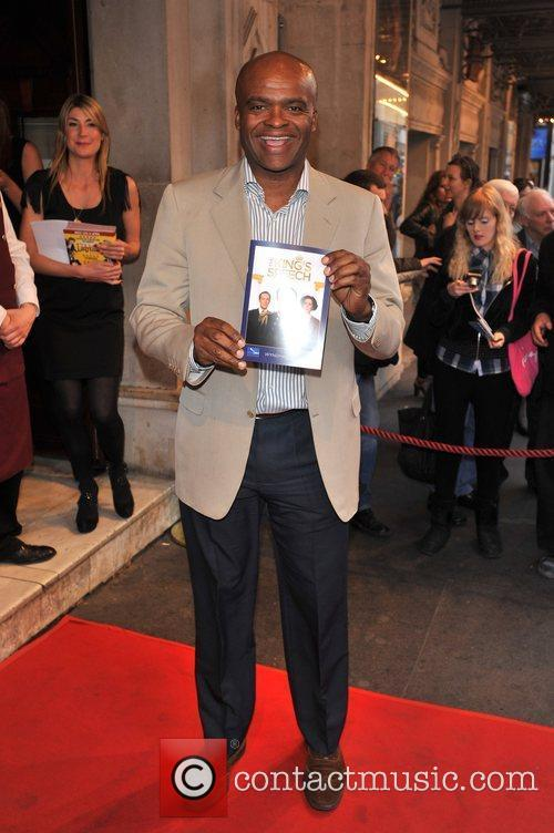 Chris Akabusi 'The King's Speech' press night held...