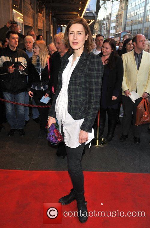 Gina McKee 'The King's Speech' press night held...