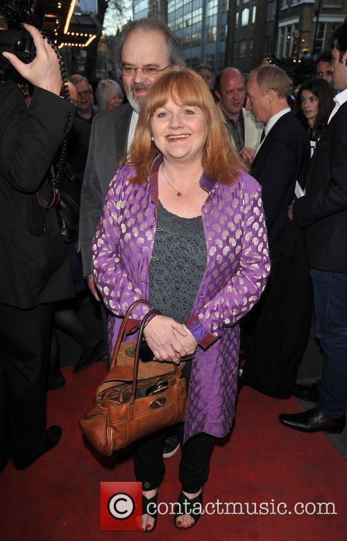 Lesley Nicol  'The King's Speech' press night...