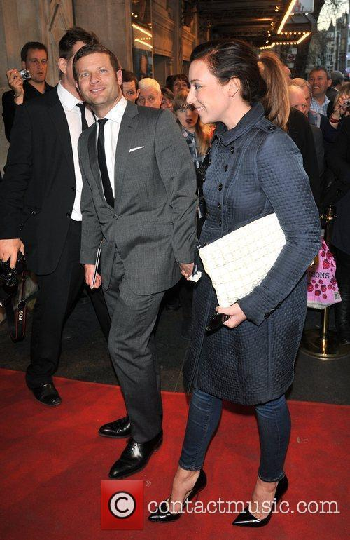 Dermot O'Leary and guest 'The King's Speech' press...