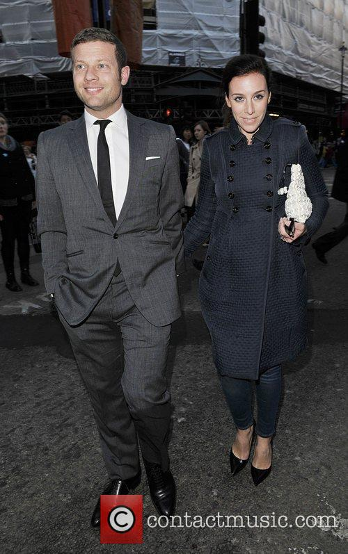 Dermot O'Leary and Dee Koppang 'The King's Speech'...