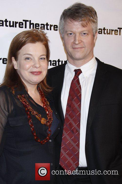 Catherine Curtin and C.J. Wilson Opening night after...