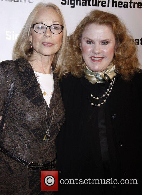 Maureen Anderman and Celia Weston Opening night after...