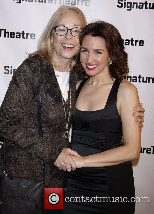 Maureen Anderman and Tricia Paoluccio Opening night after...