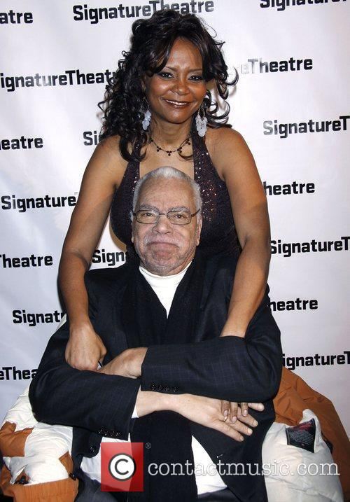 Tonya Pinkins and Earle Hyman Opening night after...