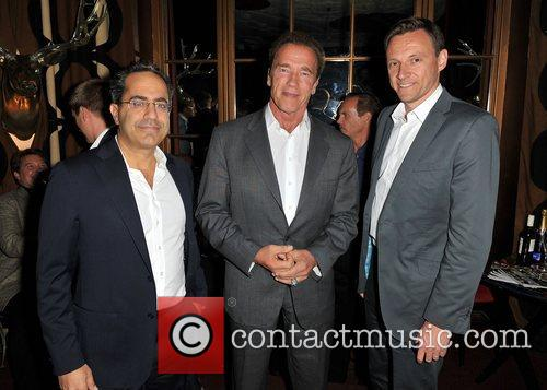 Guy Avshalom, Arnold Schwarzenegger and Zygi Kamasa 2