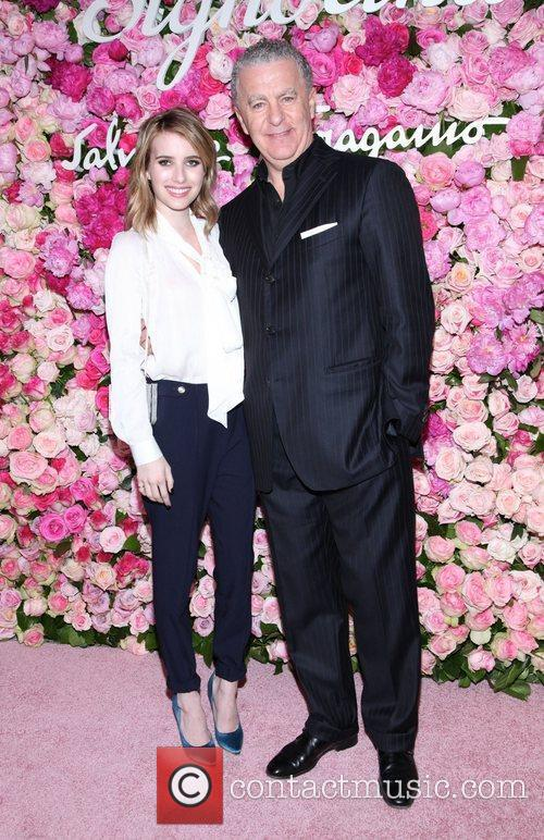 Emma Roberts and Luciano Bertinelli The launch of...