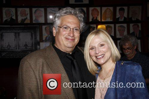 Harvey Fierstein and Roslyn Kind  After party...