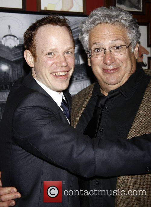 Sean Dugan and Harvey Fierstein After party celebrating...