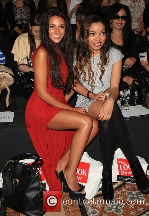 Michelle Keegan and Dionne Bromfield 6