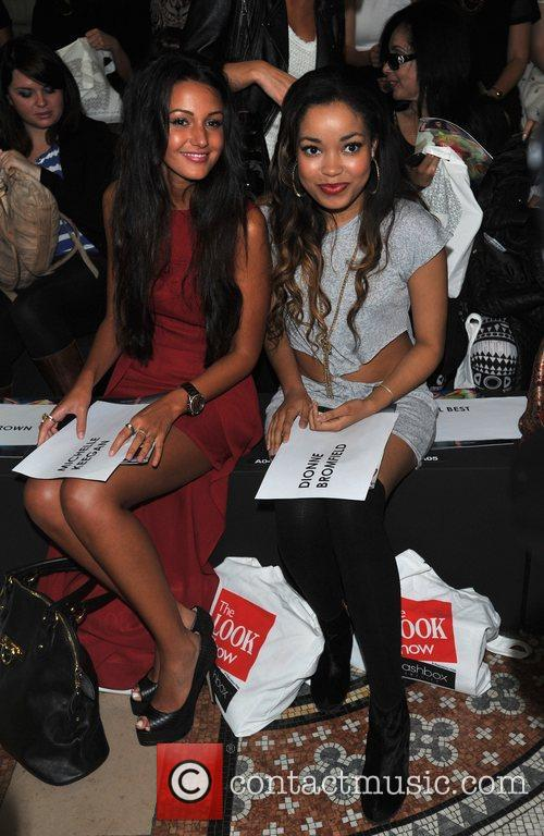 Michelle Keegan and Dionne Bromfield 3