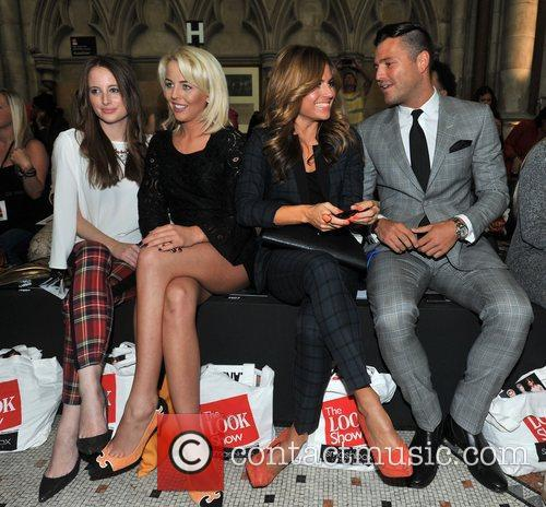Rosie Fortescue, Lydia Bright, Zoe Hardman and Mark Wright 3