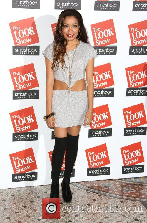Dionne Bromfield The Look fashion show in association...