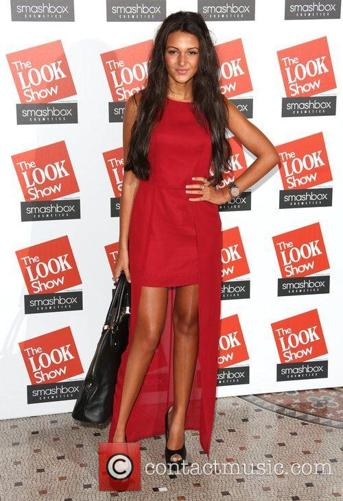 Michelle Keegan The Look fashion show in association...
