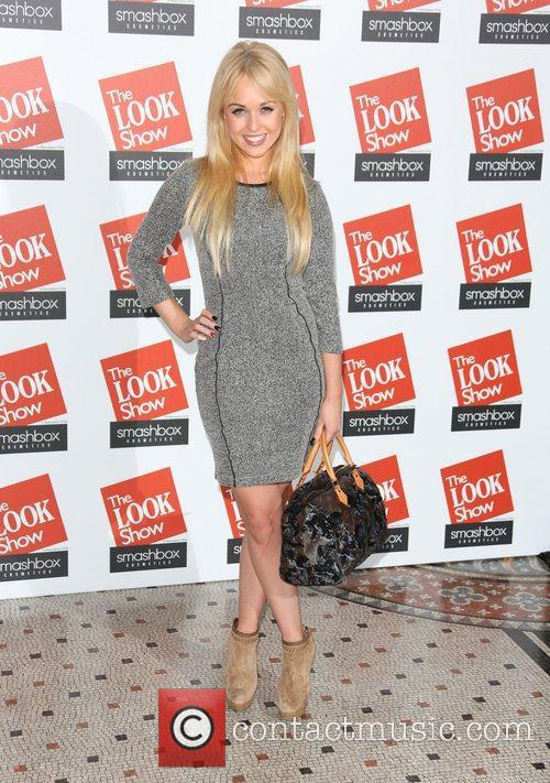 Jorgie Porter The Look fashion show in association...