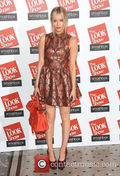 Laura Whitmore The Look fashion show in association...