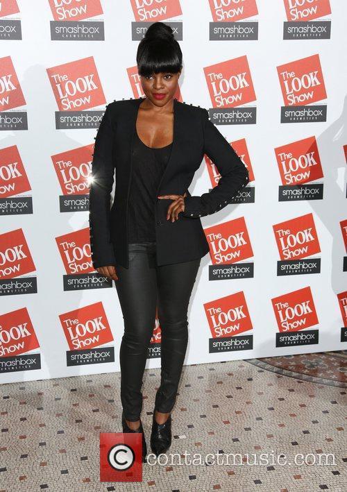 Keisha Buchanan The Look fashion show in association...