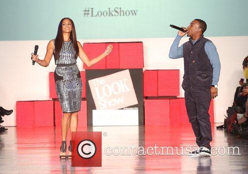 Alesha Dixon and Ashley Walters The Look fashion...