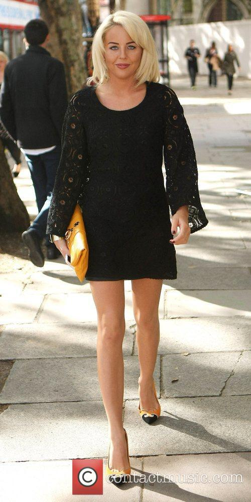 Lydia Rose Bright The Look fashion show in...