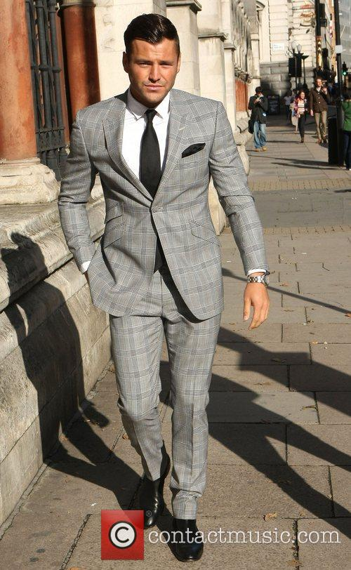 Mark Wright The Look fashion show in association...