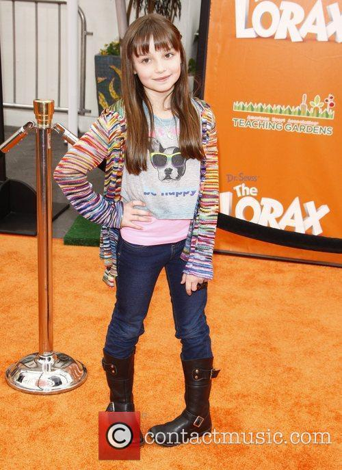 The premiere of 'The Lorax' held at the...