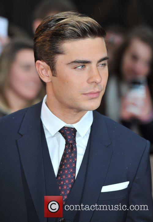 Zac Efron 'The Lucky One' UK film premiere...