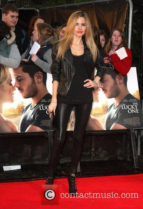 Agne Motiejunaite 'The Lucky One' UK film premiere...