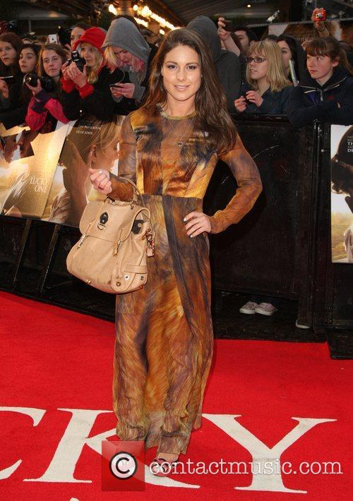 Louise Thompson 'The Lucky One' UK film premiere...
