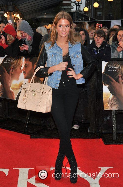 Francesca Hull 'The Lucky One' UK film premiere...