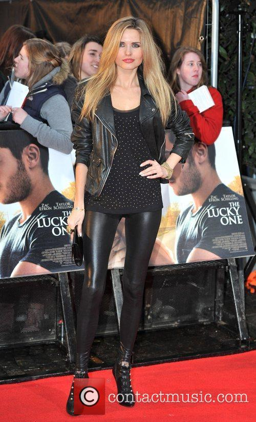 Kimberley Garner 'The Lucky One' UK film premiere...
