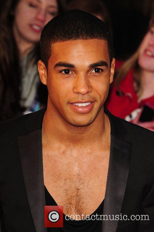 Lucian Laviscount 'The Lucky One' UK film premiere...