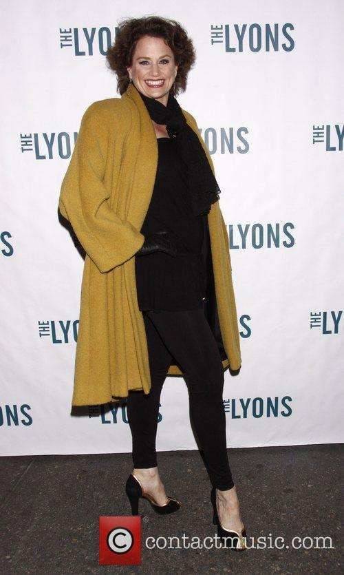 Cady Huffman Broadway opening night of 'The Lyons'...
