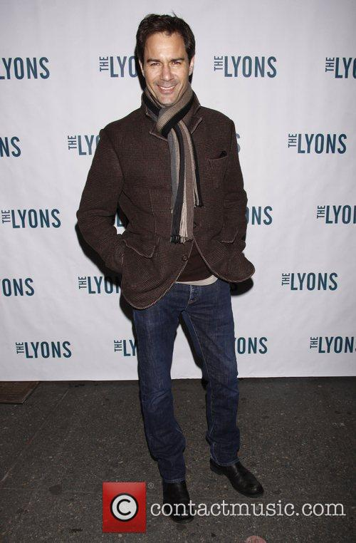 Eric McCormack Broadway opening night of 'The Lyons'...