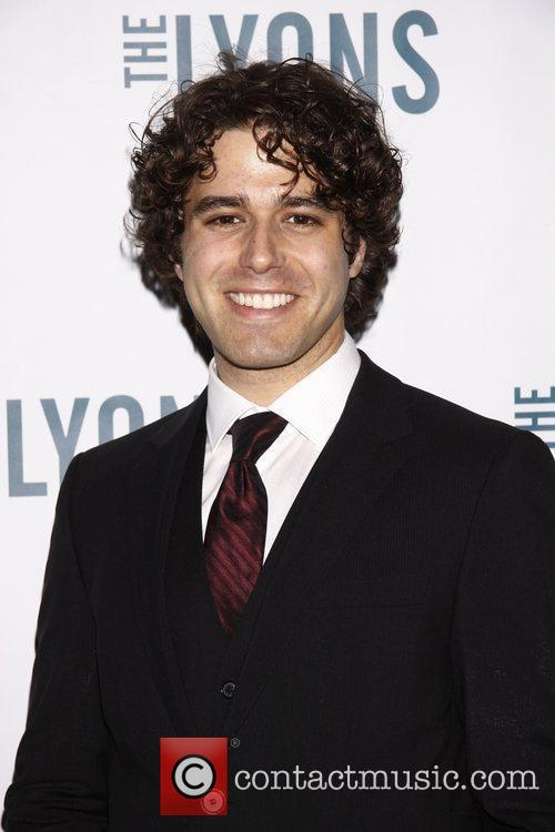 Josh Young Broadway opening night of 'The Lyons'...
