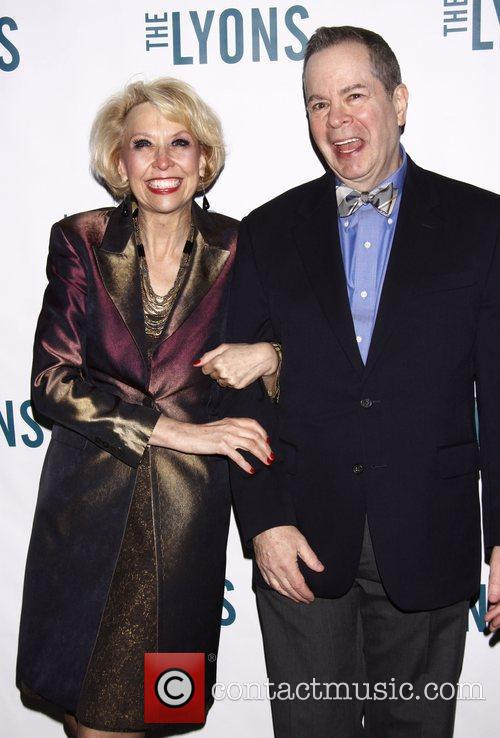 Julie Halston and Peter Bartlett Broadway opening night...