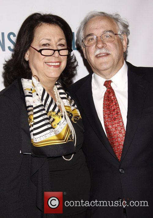 Lynne Meadow and Ronald H. Shechtman Broadway opening...