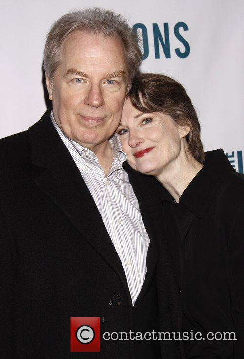 Michael McKean and Annette O'Toole Broadway opening night...
