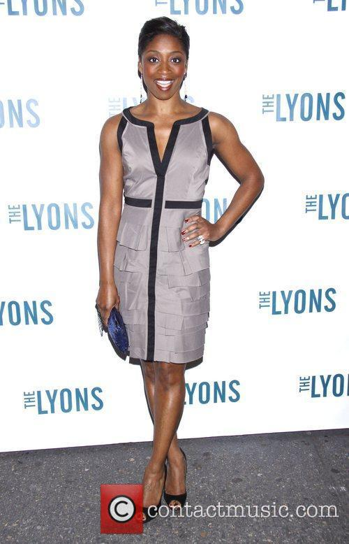 Montego Glover Broadway opening night of 'The Lyons'...