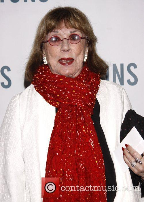 Phyllis Newman Broadway opening night of 'The Lyons'...